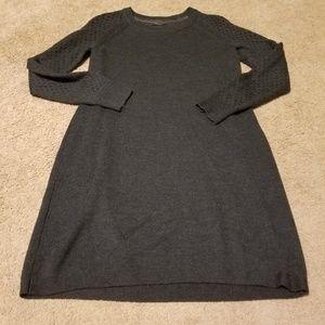 Tahari Merino Wool Sweater Dress